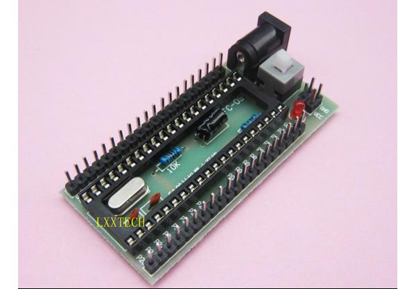 51 MCU development board minimum system   All experimental board I / O ports are external