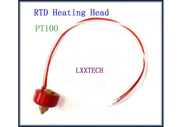3d Printer Accessories Pt100 Rtd Heating Head For 3d