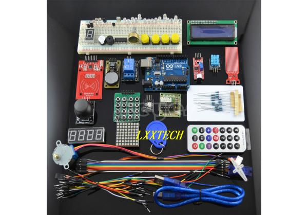 UNO KIT Upgraded version of the For- Starter Kit the RFID learn Suite Stepper Motor + ULN2003