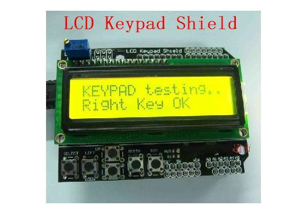 LCD Module LCD Keypad Shield LCD1602 Module Display For Arduino