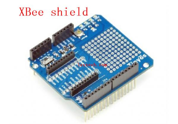 XBee shield wireless module expansion board for Arduino