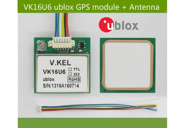 VK16U6 ublox GPS module with Antenna , ublox module - good