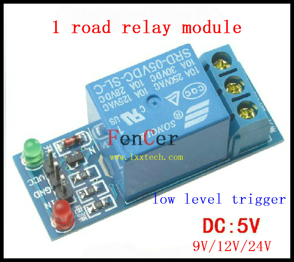 RelayRelay Module Road Relay Module Expansion Board Low Level - Normally open normally closed common relay
