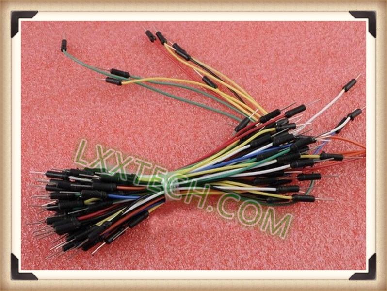 65pcs Jump Wire Male to Male Jumper Wire Breadboard,